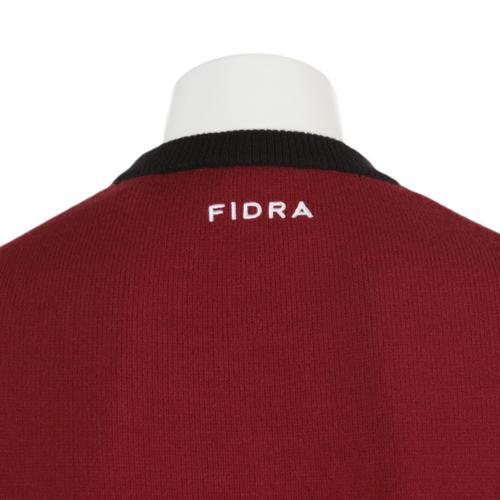 フィドラ(FIDRA) 16FW Ms Fロゴニットプルオーバー (メンズニット) P110512 レッド 【16秋冬】(Men's)