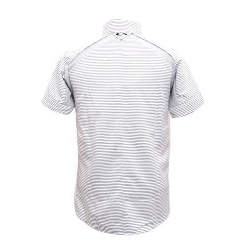 オークリー(OAKLEY) 16SS Skull Stripe Shirt (メンズ半袖シャツ) 401819JP-100 【16春夏】(Men's)