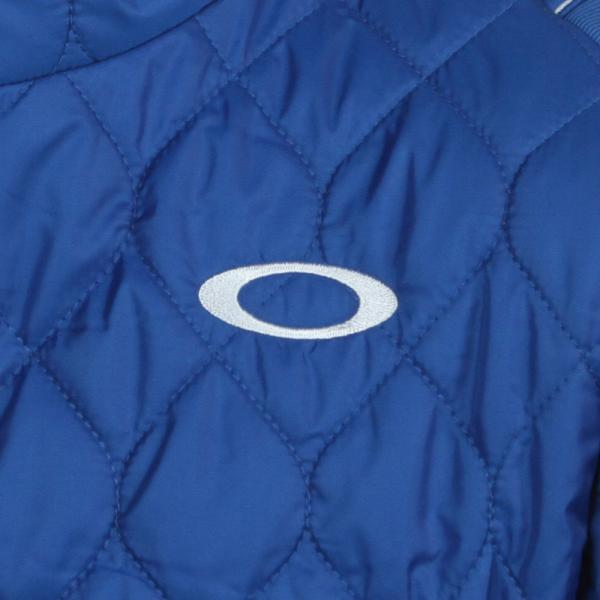 オークリー(OAKLEY) Swell Quilted JKT (メンズアウター) 412305JP 69J Imperial Blue(Men's)