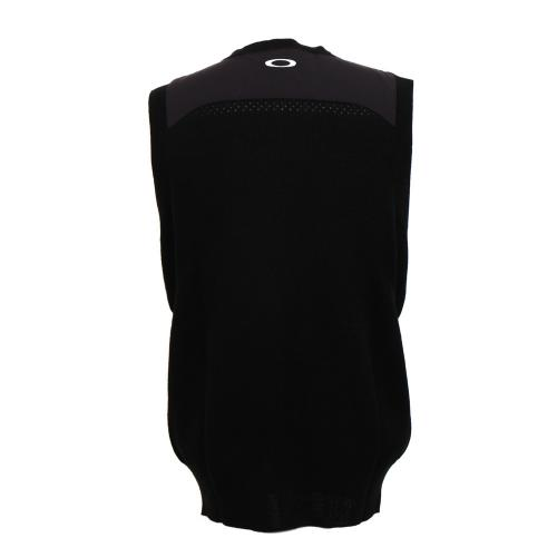 オークリー(OAKLEY) 16FW Skull Sweater Vest (メンズベスト) 433800JP-01K 【16秋冬】(Men's)