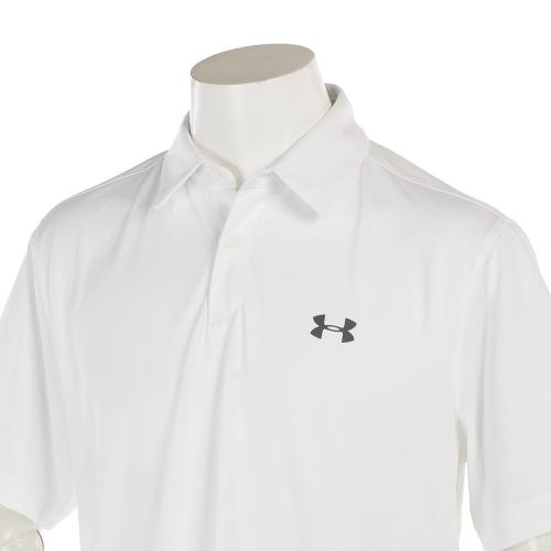 UA COOLSWITCH POLO 1290143 WHT/WHT/GPH GO 【17春夏】