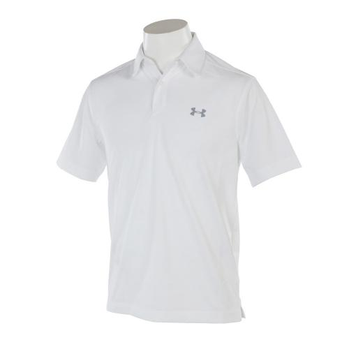 THREADBORNE JACQUARD POLO (メンズ半袖ポロシャツ) #1290152 WHT/STL/STL GO 【17春夏】