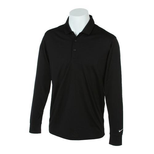 ナイキ DRI-FIT ビクトリーLSポロシャツ (メンズシャツ) 725515-010 【16秋冬】