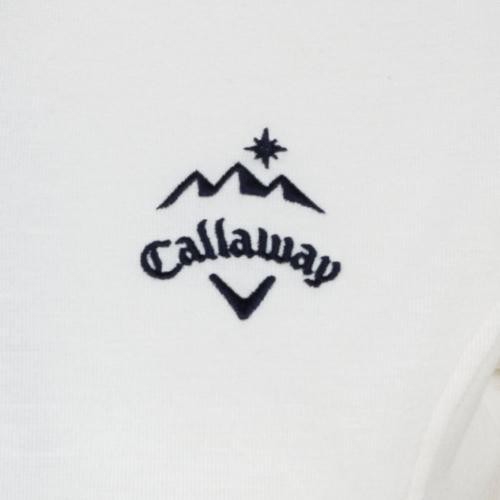 キャロウェイ(CALLAWAY) 起毛スムーストモエリシャツ (レディースシャツ) 241-6256803-030(Lady's)