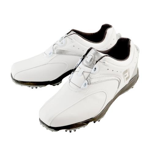 フットジョイ(FootJoy) ゴルフシューズ 16 EXL スパイクボア WT/SV 45168W (Men's)