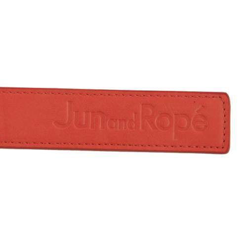ジュンアンドロぺ(JUN&ROPE) 合皮ロゴ型押しベルト (レディース衣料小物ベルト) ERW1600-70 【16秋冬】(Lady's)