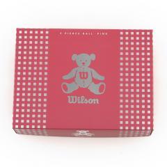 ウイルソンゴルフ BEAR3 (レディースゴルフボール) BEAR3 ピンク 12個入(Lady's)