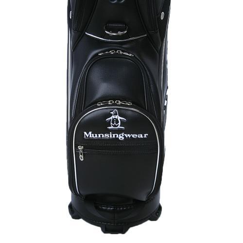 マンシングウエア(MUNSING WEAR) 軽量CB9.5型 (メンズキャディーバッグ) MQ1202 N100 2017年モデル(Men's)