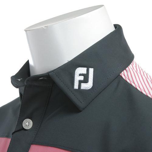 フットジョイ(FootJoy) PGA S17S82ブロックシャツ PK/CH 31075PK (Men's)