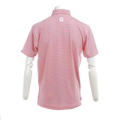 フットジョイ(FootJoy) >PGA S17S81フィーダーシャツ PK/WT 31078PK (Men's)