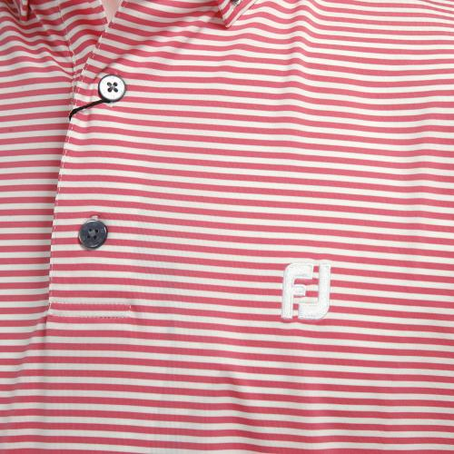フットジョイ(FootJoy) PGA S17S81フィーダーシャツ PK/WT 31078PK (Men's)