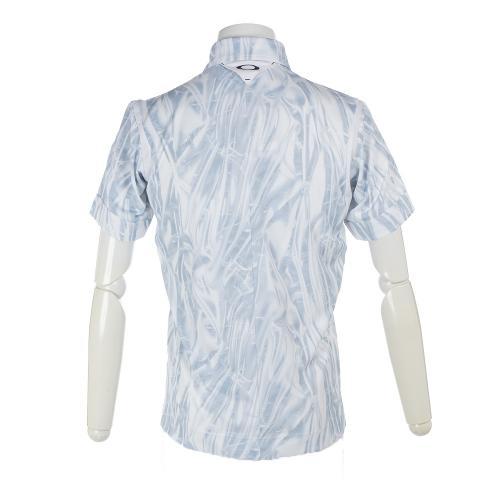 オークリー(OAKLEY) Skull Stream Shirts 433969JP-186 WH×BK【17年春夏】(Men's)