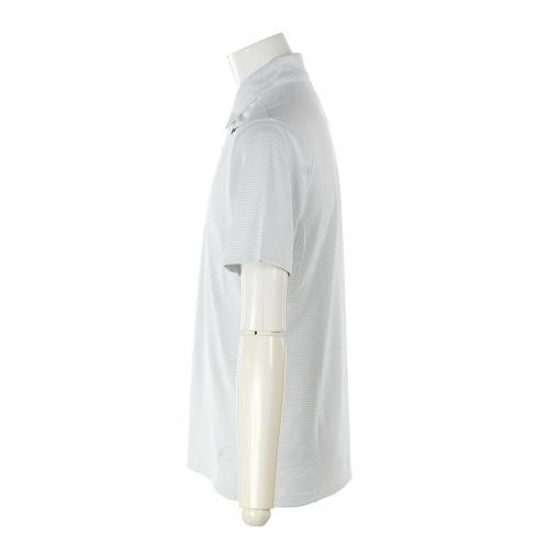モビリティジャガード半袖ポロシャツ833106-100 【17春夏】