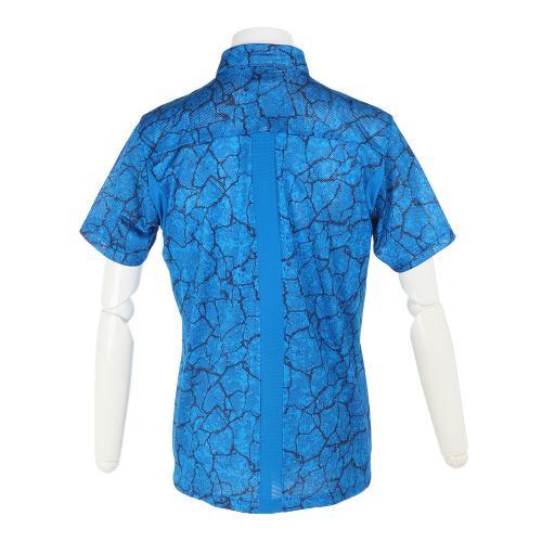 オークリー(OAKLEY) Bark Geological Shirts 433958JP-62K BLU【17春夏】(Men's)