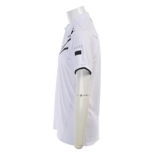 Skull Claw Zip Shirt (メンズ半袖シャツ) 433966JP-100  White 【17春夏】