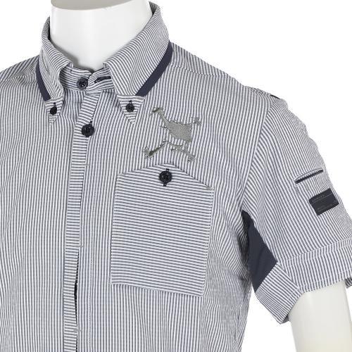 オークリー(OAKLEY) Skull Seersucker Shirts 433971JP-00N GRY【17春夏】(Men's)
