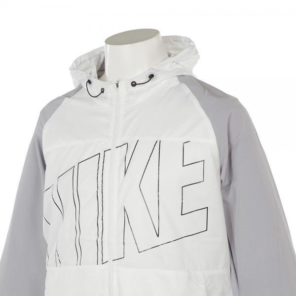 ナイキ(nike) プリンテッドパッカブルフーデッド 833317-100(Men's)