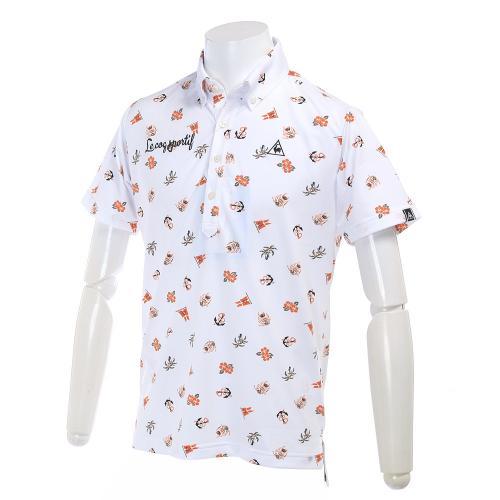 ルコック スポルティフ(Lecoq Sportif) カリビアンプリントハンソデシャツ QG1524-N942 【17春夏】(Men's)