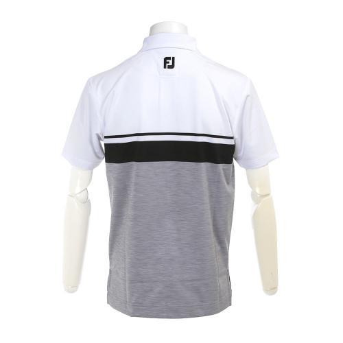 S17S52カラーブロック スペースダイシャツ 22589WT