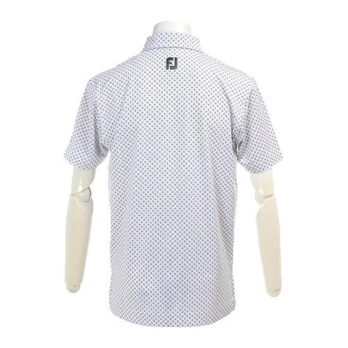 S17S61タイプリントシャツ 22627PK22592WT