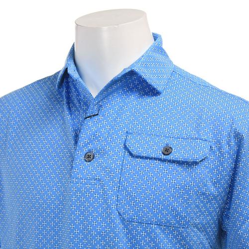 S17S61タイプリントシャツ 22633NV22594SB