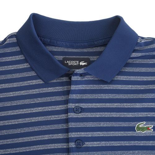 ラコステ(LACOSTE) ボーダーポロシャツ DH2100-LUT(Men's)
