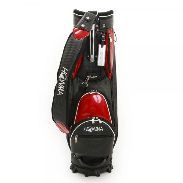 ホンマゴルフ(HONMA) キャディバッグ CB-1729 BK/RED(Men's)