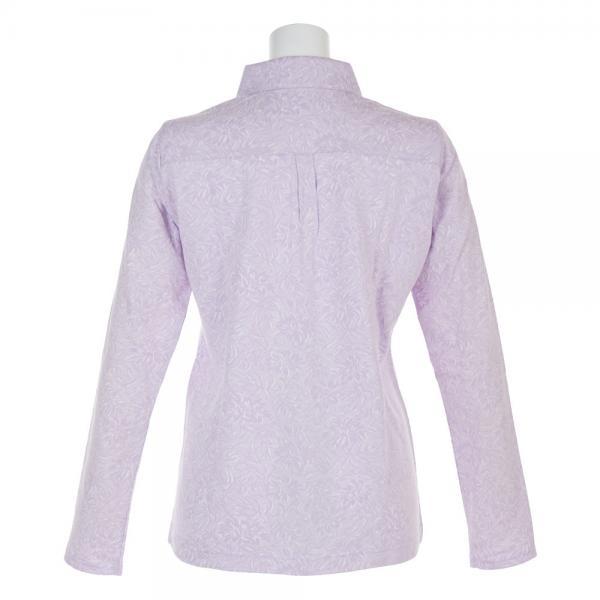 ホンマゴルフ(HONMA) フラワージャガードシャツ 756-418153 LV(Lady's)