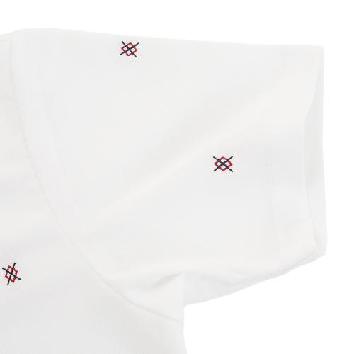 タイトリスト(TITLEIST) アーガイル刺繍 カノコボタンダウンシャツ TWMC1701WT(Men's)