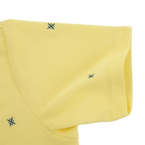タイトリスト(TITLEIST) アーガイル刺繍 カノコボタンダウンシャツ TWMC1701YW(Men's)