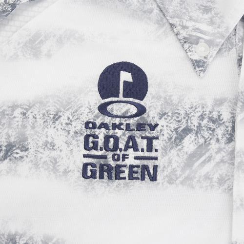 オークリー(OAKLEY) BARK CLOUDED SHIRTS 434086JP-022(Men's)