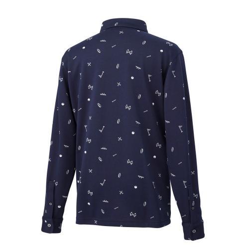 アディダス(adidas) ツールモノグラム L/Sシャツ(Men's)