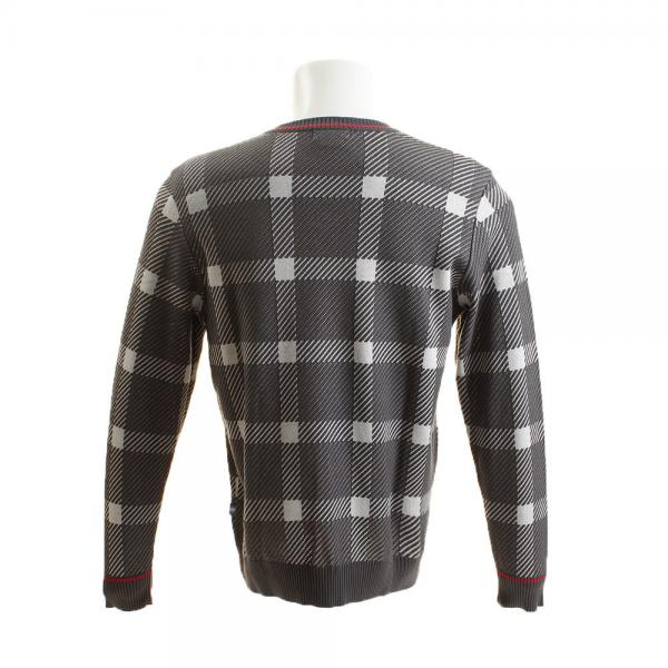 マンシングウエア(MUNSING WEAR) チェックVネックセーター JWMK400-N304(Men's)