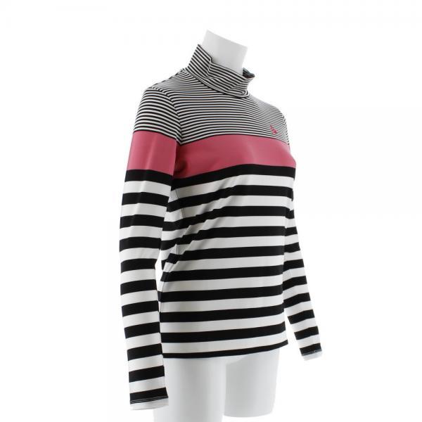 ルコック スポルティフ(Lecoq Sportif) ボーダーハイネックシャツ QGL1017-N942(Lady's)