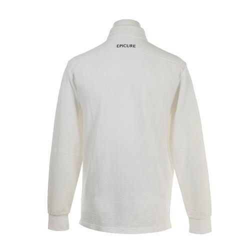 エピキュール(epicure) チョウオンカノコナガソデシャツ EPTT7F3004 WHT(Men's)