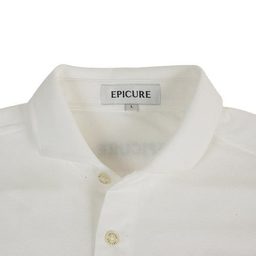 エピキュール(epicure) チョウオン鹿の子長袖シャツ EPTT7F3004 WHT(Men's)