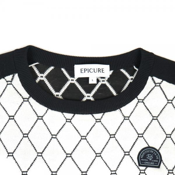 エピキュール(epicure) カシミヤJQニット EPTT7F3020 WHT(Men's)