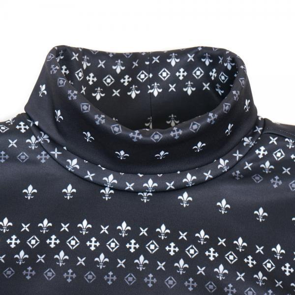 エピキュール(epicure) 裏起毛スムースモックネックシャツ EPTT7F3027 BLK(Men's)