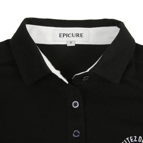 エピキュール(epicure) チョウオン鹿の子長袖シャツ EPTT7F7105 BLK(Lady's)