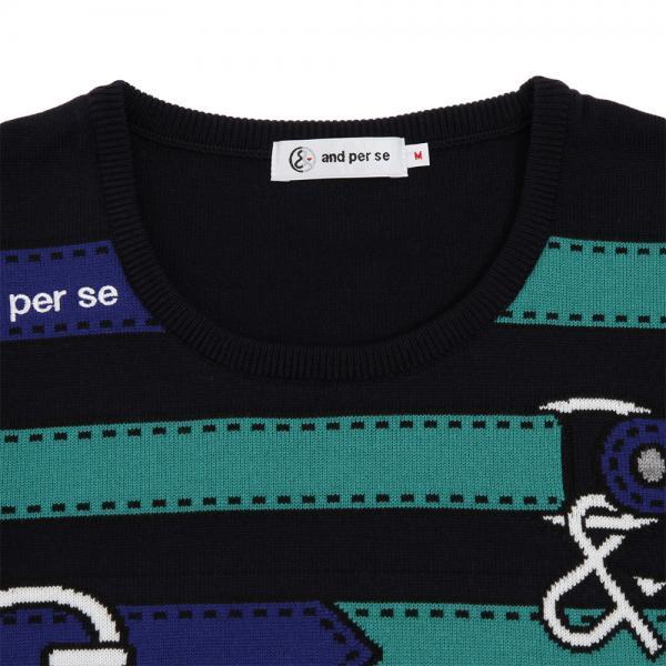 アンパスィ(and per se) セーター 2317FF/C8 30(Lady's)