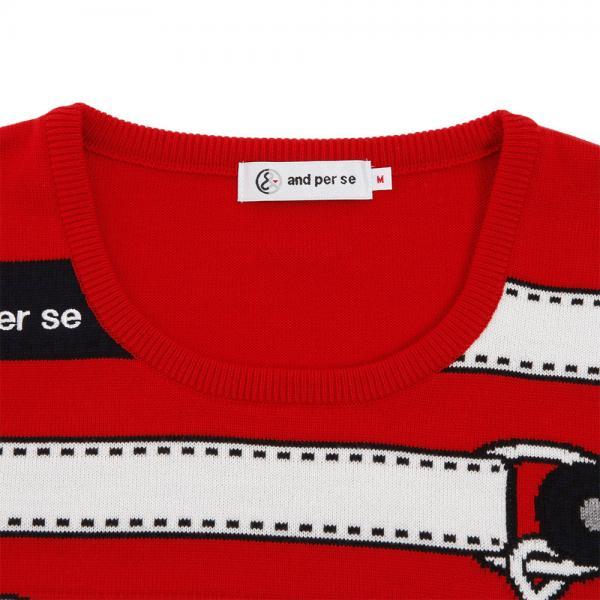 アンパスィ(and per se) セーター 2317FF/C8 40(Lady's)