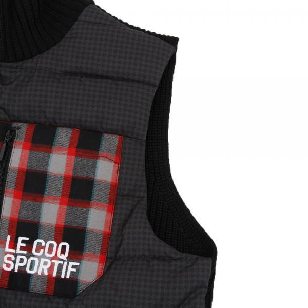 ルコック スポルティフ(Lecoq Sportif) ニットハイブリッドアウターベスト(Men's)