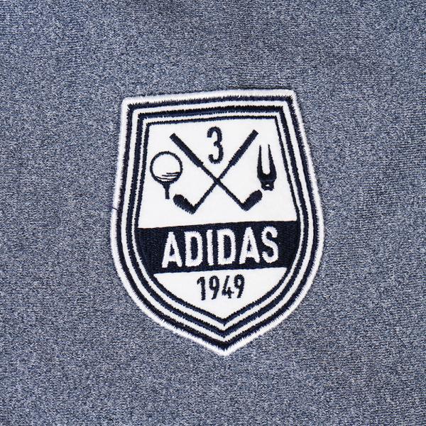 アディダス(adidas) モノグラムフルジップスウエット CCP90-N68069-ネイビー-17FW(Men's)