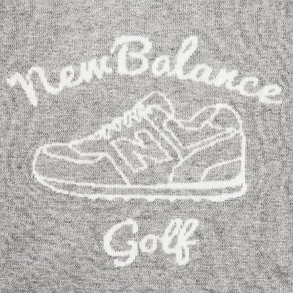 ニューバランス(new balance) Bigシューズモチーフクルーニット 012-7270006-020(Men's)
