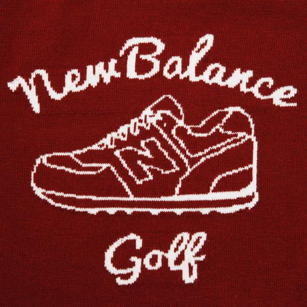 ニューバランス(new balance) Bigシューズモチーフクルーニット 012-7270006-070(Men's)