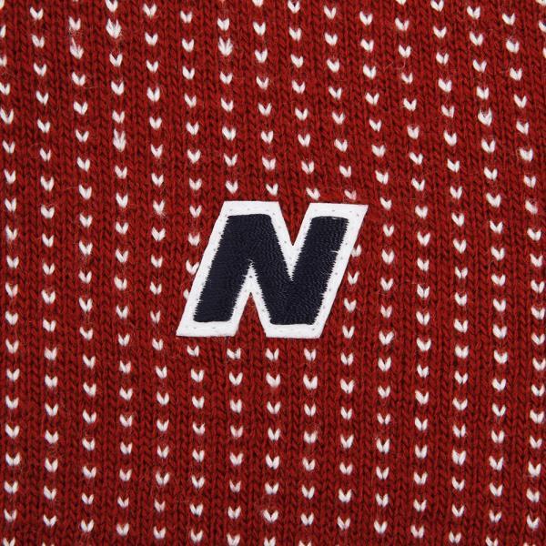 ニューバランス(new balance) 裏付きショールカラーニット 012-7274001-070(Men's)