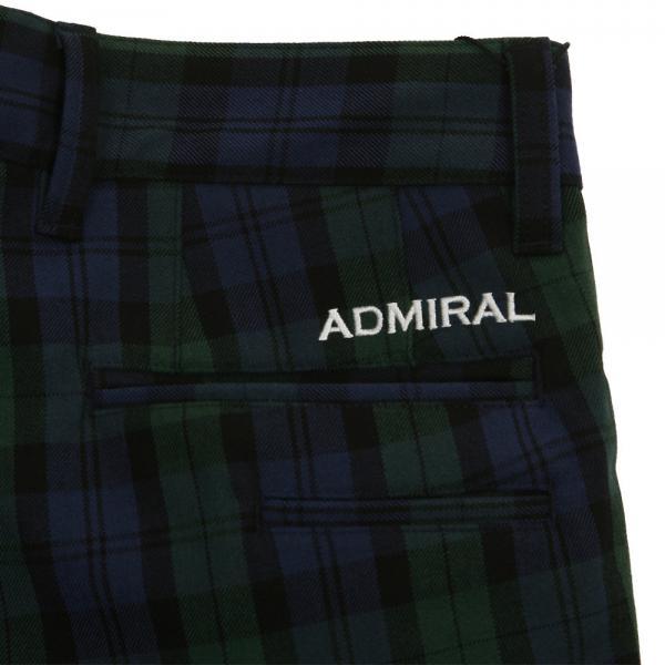 アドミラル(Admiral) チェック ストレートパンツ ADMA7T2-TRT(Men's)