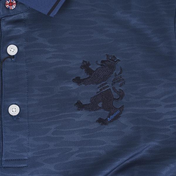 アドミラル(Admiral) 半袖ポロシャツ ADMA778-BLU(Men's)
