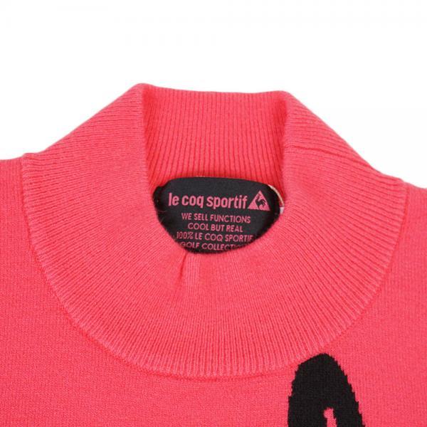 ルコック スポルティフ(Lecoq Sportif) 半袖ニットシャツ QGL5056-R556(Lady's)