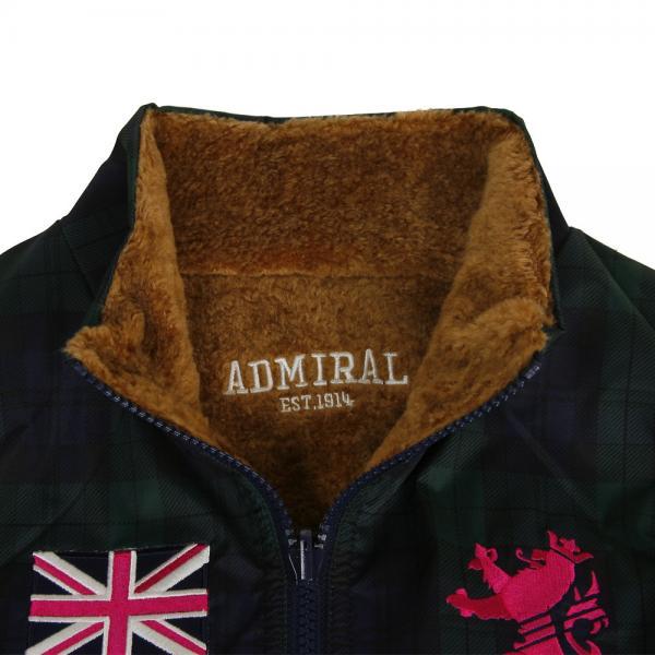 アドミラル(Admiral) リバーシブルベスト ADLA782-BEG(Lady's)